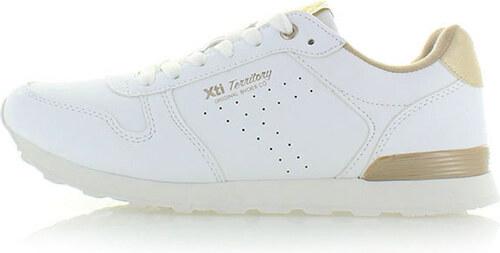 Bielo-zlaté tenisky XTI 46379 - Glami.sk 208fefb12e