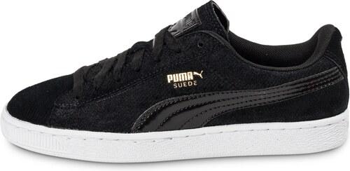 Puma Basket Remaster Emboss Noire