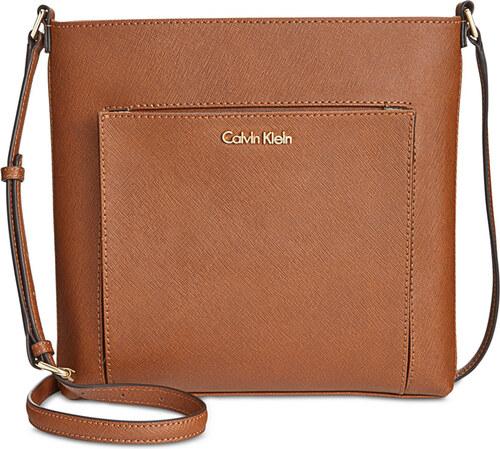Kožená crossbody kabelka Calvin Klein luggage - Glami.cz 7c064120dc5