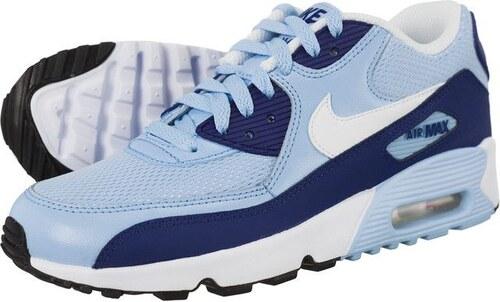 33599cb2ba8 Boty Nike Air Max 90 Mesh GS Light Blue - Glami.cz
