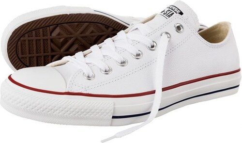 Boty Converse 132173 Chuck Taylor All Star OX Leather White - Glami.cz c8db288334