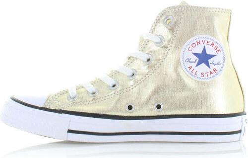 Dámské zlaté kotníkové tenisky Converse Chuck Taylor All Star - Glami.cz c05a008420
