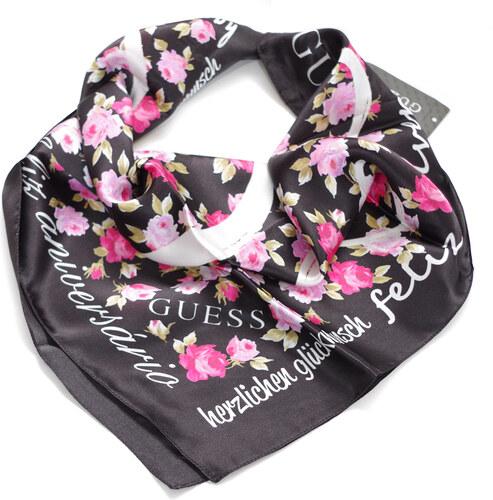 Guess hedvábný dámský šátek AW9789 - Glami.cz c7f2d06032