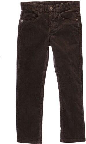 0 1 2 Pantalon en velours côtelé - gris