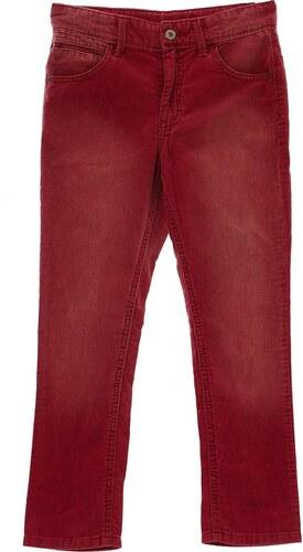 Benetton Pantalon en velours côtelé - rose indien