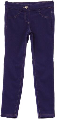 0 1 2 Pantalon en coton mélangé - bleu