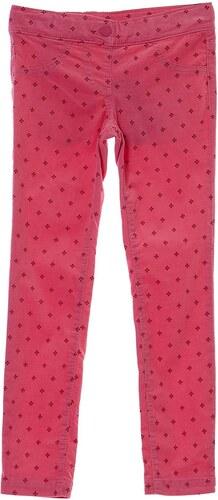 0 1 2 Pantalon en coton mélangé - rose