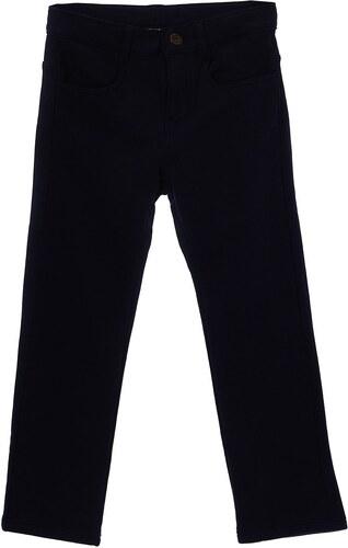 Benetton Pantalon en coton - bleu marine