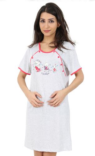 Vienetta Secret Kojící noční košile Helena s kočičkami - Glami.cz 3b9cce672f
