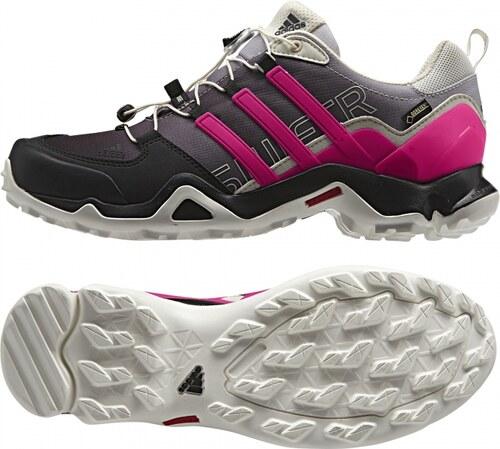 Outdoorové boty adidas Performance TERREX SWIFT R GTX W (Bílá   Růžová    Černá) 2ed96690fd
