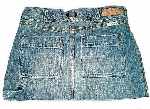 Minisukně jeans Abercrombie
