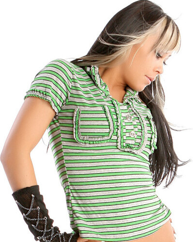 Pruhované tričko – halenka