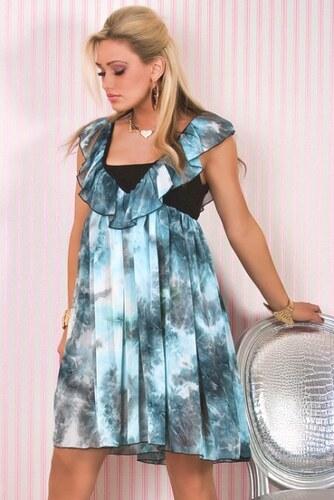 Duhové dámské šaty