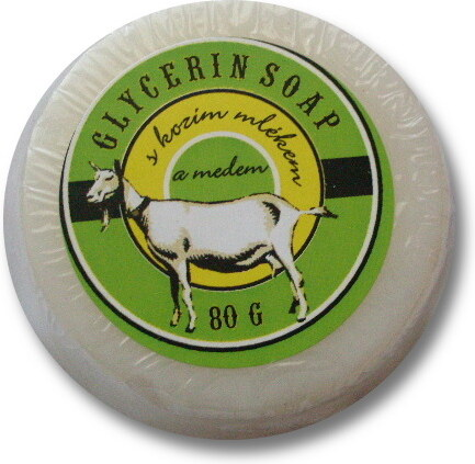 Mýdlo s medem a mlékem 80 g