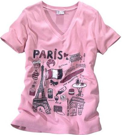Tričko Paříž ...a můžete vyrazit!