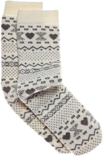 0 1 2 Socken - weiß