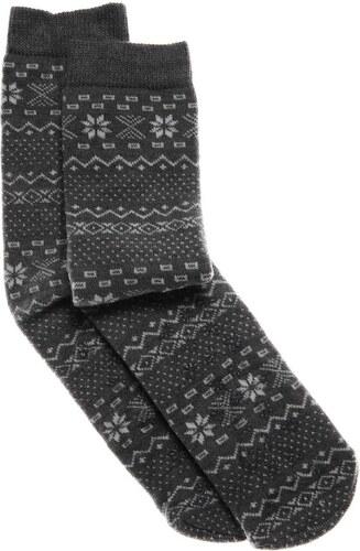 Benetton Chaussettes imprimées - gris