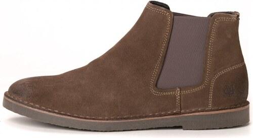 d358d092acc87 Marc O´Polo pánská kotníčková obuv Chelsea 44 khaki - Glami.cz