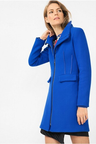 da73989d9 Desigual modrý kabát Julieta - Glami.cz