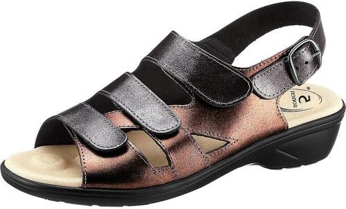 Große Größen: Sandalette, metallicfarben, Gr.36-42