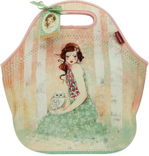 Santoro neoprenová kabelka Mademoiselle Snow - Glami.cz d4fbdda8453