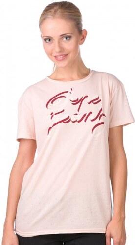 Pepe Jeans dámské tričko Jules S růžová - Glami.cz 4286f76d3e