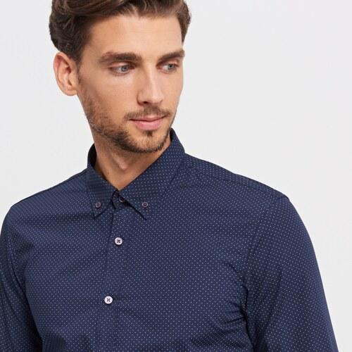 Reserved Puntíkovaná košile SLIM FIT - Glami.cz ba78e911ca