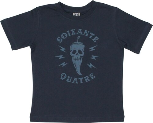 64 Esquelette - T-shirt - bleu marine