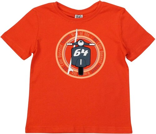 64 Scooter - T-shirt - orange