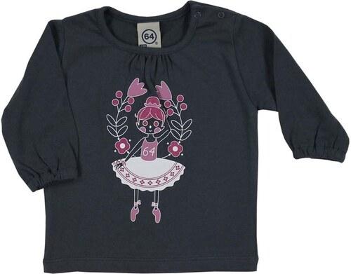 64 T-shirt - anthracite