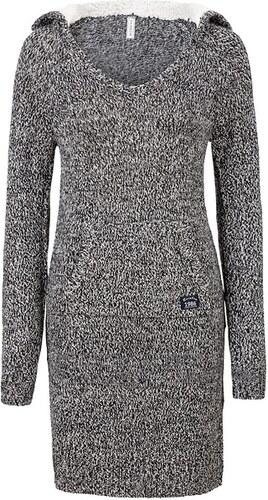 05d5ecbe7339 RAINBOW Pletené šaty s kapucí bonprix - Glami.cz
