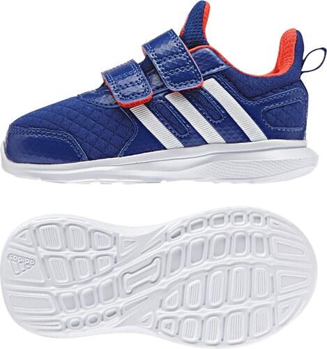 adidas Chlapčenské tenisky Hyperfast 2.0 cf I - modré - Glami.sk c0500aaf36d