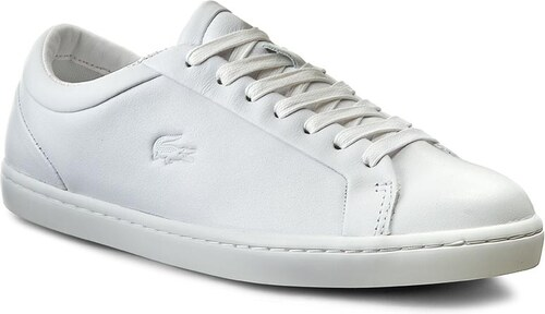 b332c189f96 Sneakersy LACOSTE - Straightset 316 1 7-32CAW0114001 Wht - Glami.cz