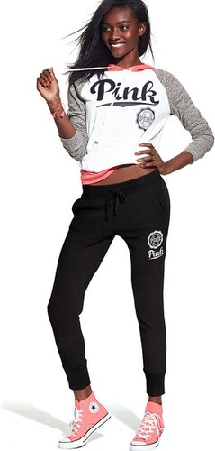 Victoria s Secret PINK tepláky Skinny Collegiate Beach Jersey - Glami.cz 5c9c8200f0