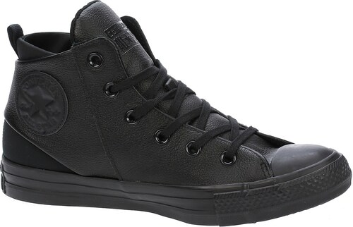 boty Converse Chuck Taylor All Star Sloane Monochrome Leather Hi -  553377 Black Black 1a77d00142