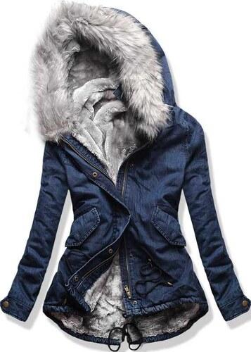 Parka Jeans/grau M681