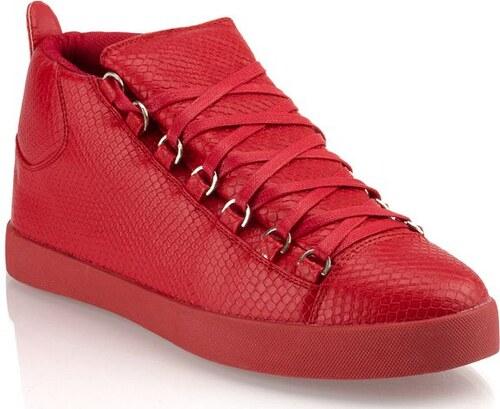 Červené pánske topánky s veľkým jazykom - Glami.sk a91cac36ce8