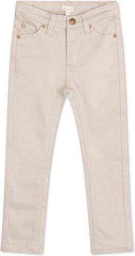 Pantalon cinq poches pierre