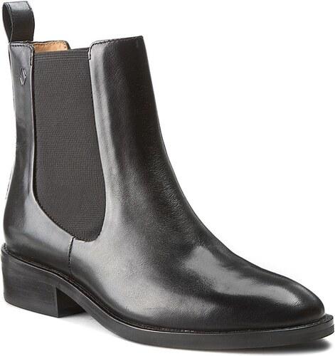 64a7a5358312 Kotníková obuv s elastickým prvkem VAGABOND - Ava 4243-101-20 Black ...