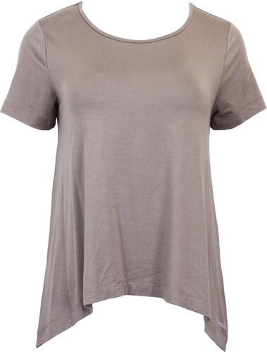 Calvin Klein Dámské volné tričko Calvin Clein zadní díl delší - Glami.cz 243c0ce083