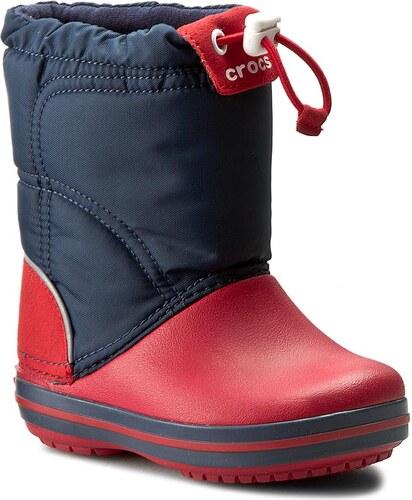 Snehule CROCS - Crocband Lodgepoint Boot K 203509 Navy Red - Glami.sk 930aab4f58
