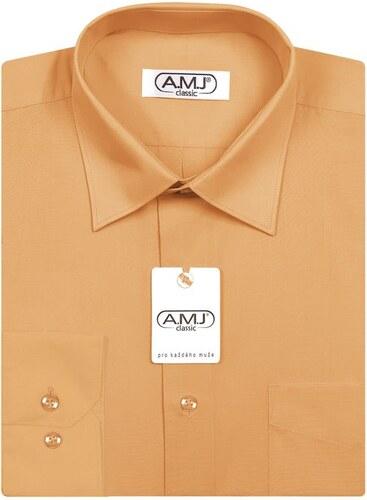 Pánská košile AMJ jednobarevná JDP010 4539d86392