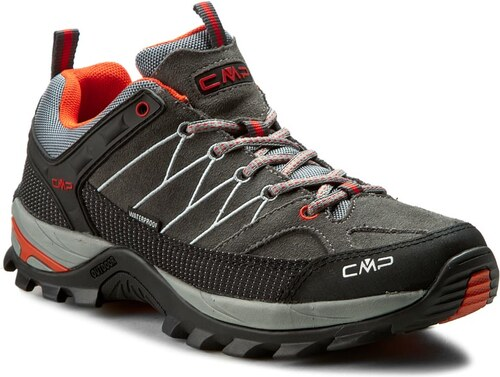 Trekingová obuv CMP - Rigel Low Trekking Shoes Wp 3Q13247 Graffite U887 92eedb82f4