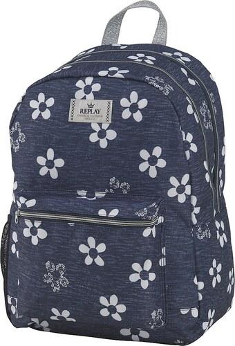 Rucksack, »Replay, Girls Backpack blau, groß, Vol. 27 Liter«
