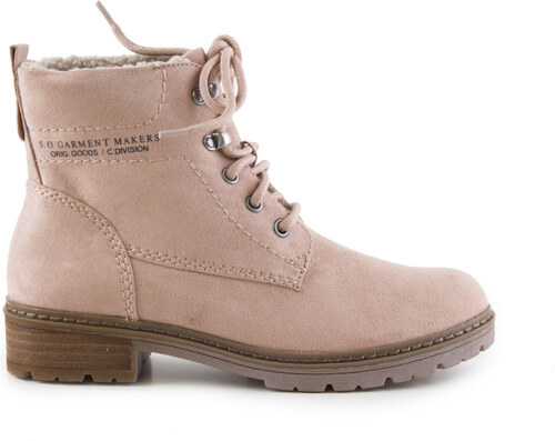 Oliver - Dámské zimní zateplené kotníkové boty se šněrováním 5-26212-27 5734a55041