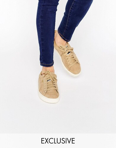 Puma Basket En Daim Sable