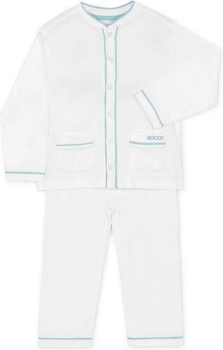 Pyjama Jersey Long - Blanc