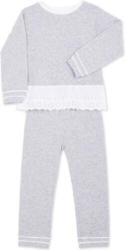 Pyjama Maille Long - Gris Chiné