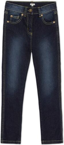 Jeans cinq poches sombre