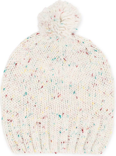 Bonnet laine beige